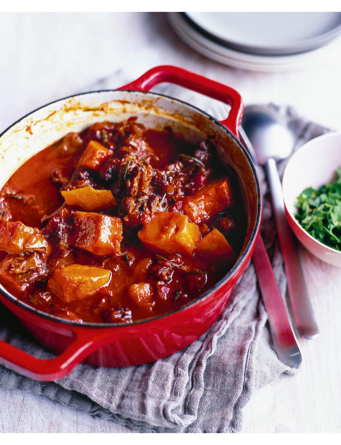 Oxtail Stew With Pumpkin And Cinnamon Sainsbury S Magazine