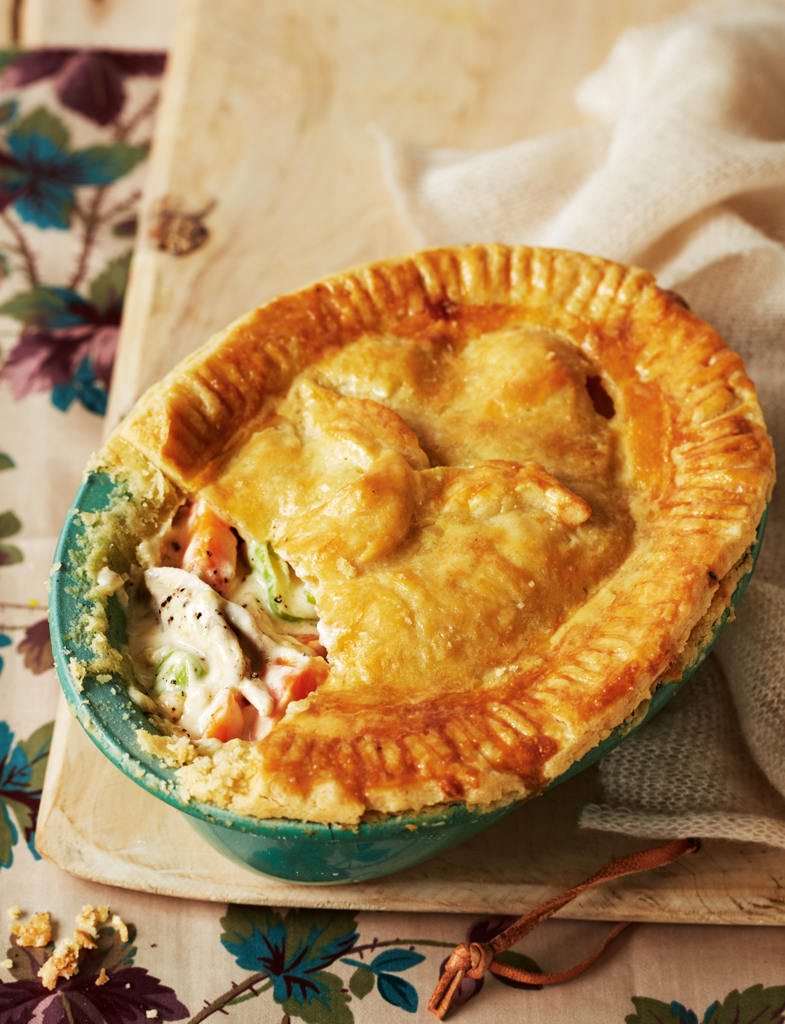 Old Fashioned Chicken Pie Sainsbury S Magazine