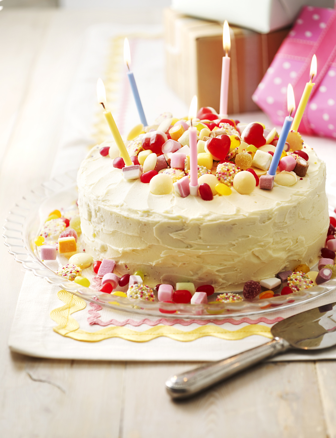Sweetie Birthday Cake Sainsbury S Magazine