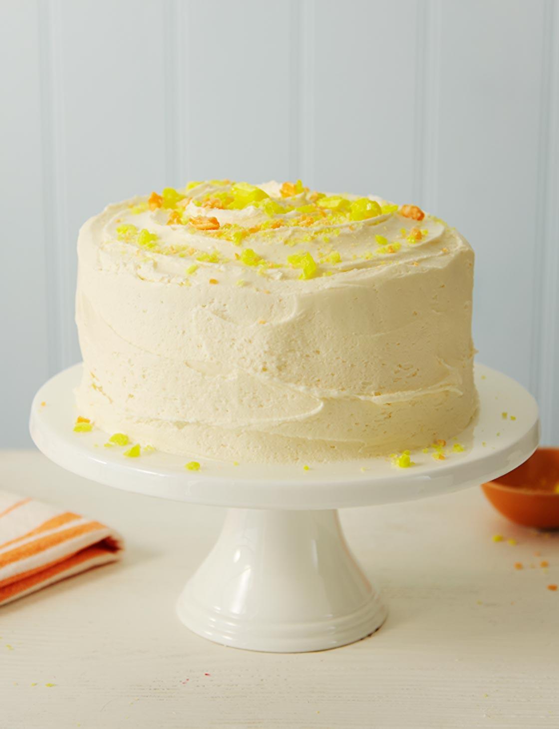 Lemon Sherbet Cake Sainsbury S Magazine