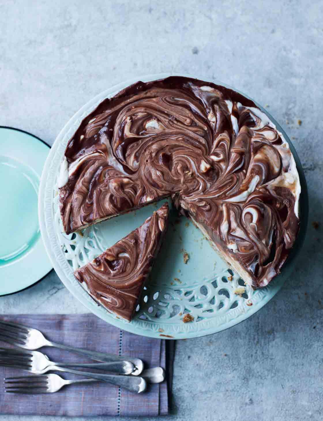 American Chocolate Fudge Pie Sainsburys Magazine