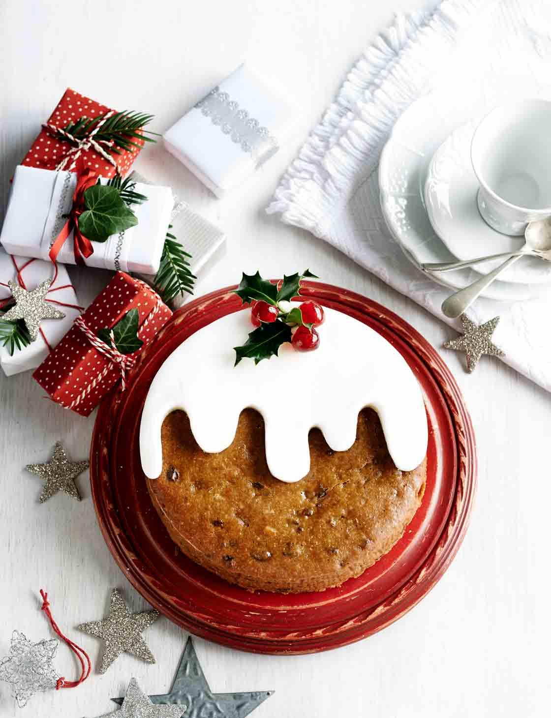Tropical Christmas pudding cake Sainsbury s Magazine