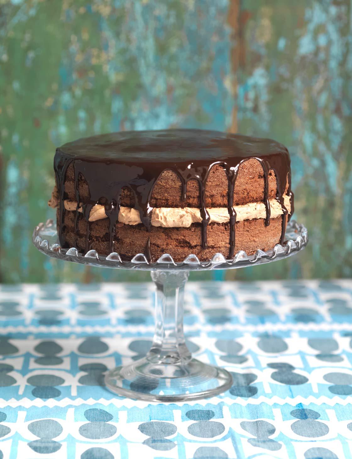 Rose Prince's chocolate cake