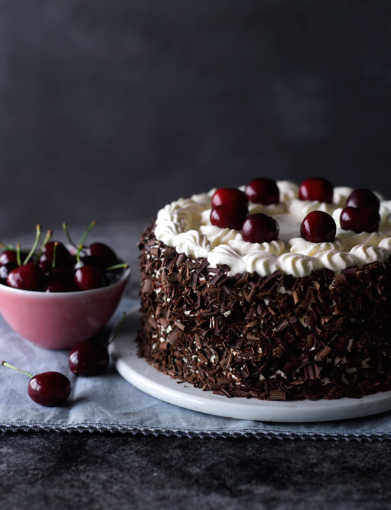 Black Forest Layer Cake Recipe