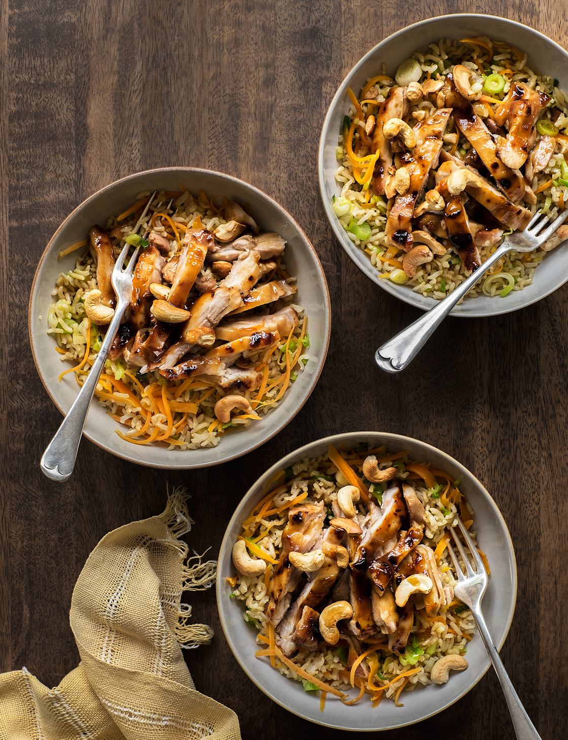 Hoisin Chicken With Stir Fried Rice Sainsbury S Magazine