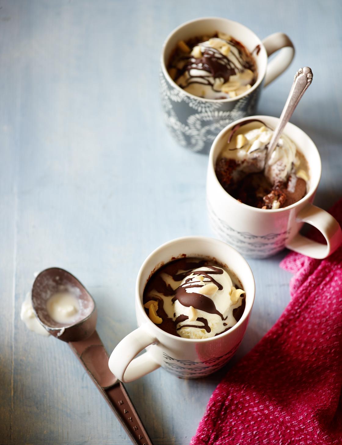 Chocolate And Peanut Butter Mug Cake Sainsbury S Magazine