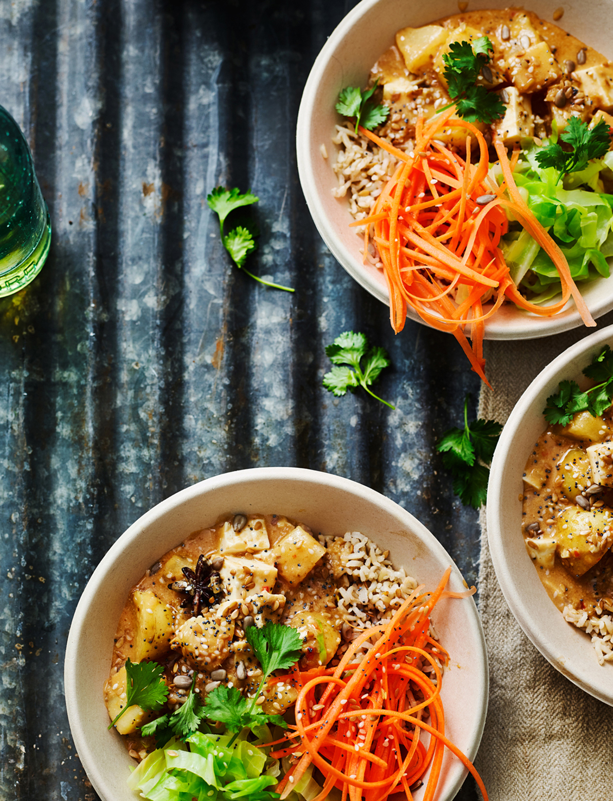 massaman curry buddha bowls recipe sainsbury 39 s magazine. Black Bedroom Furniture Sets. Home Design Ideas