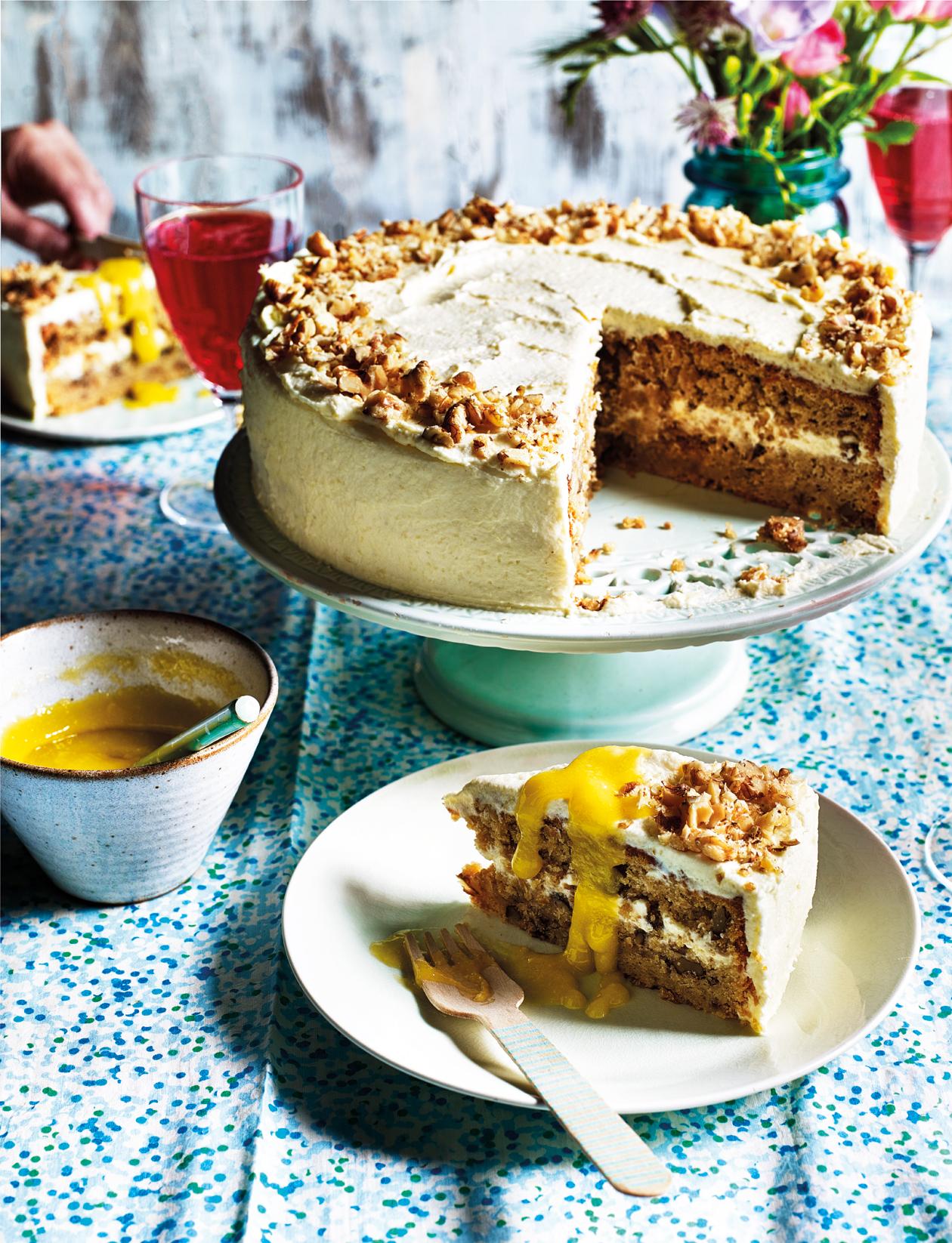 Parsnip and white chocolate cake recipe Sainsbury s Magazine