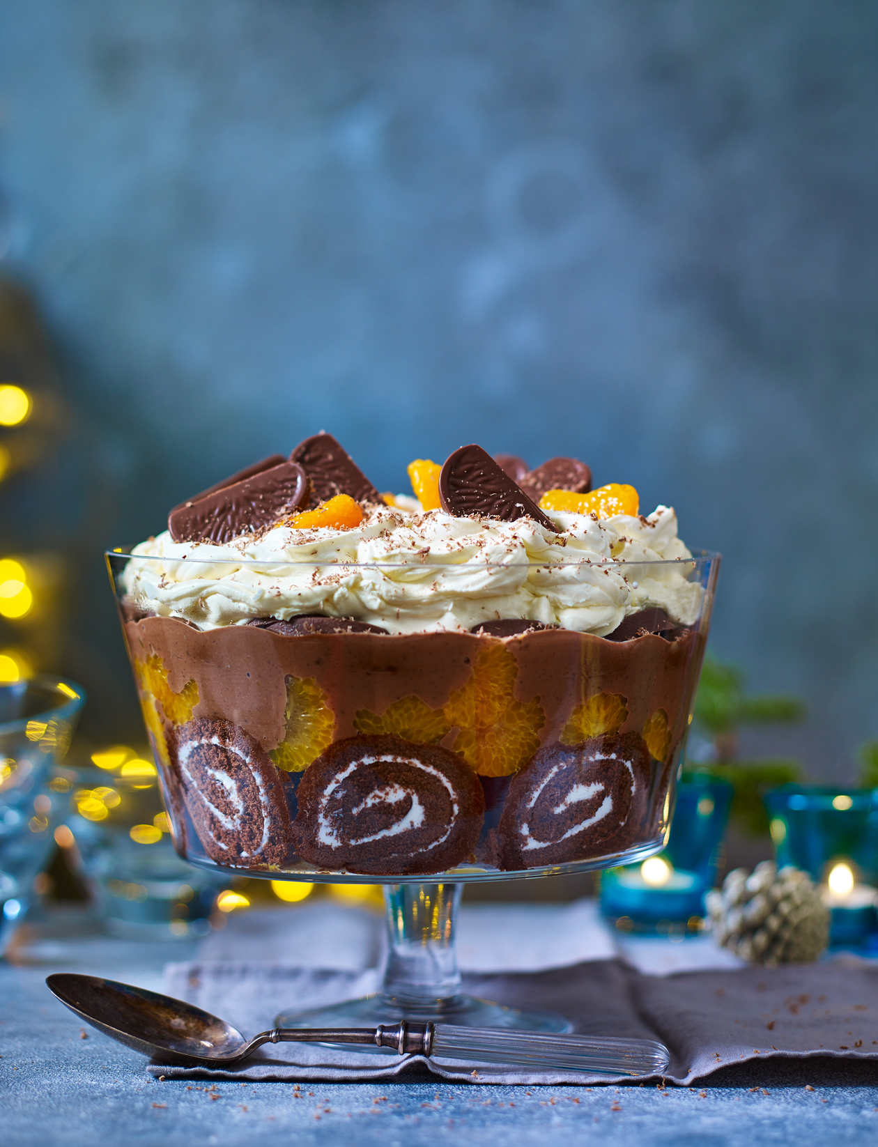 Chocolate Orange Trifle Recipe Sainsbury S Magazine