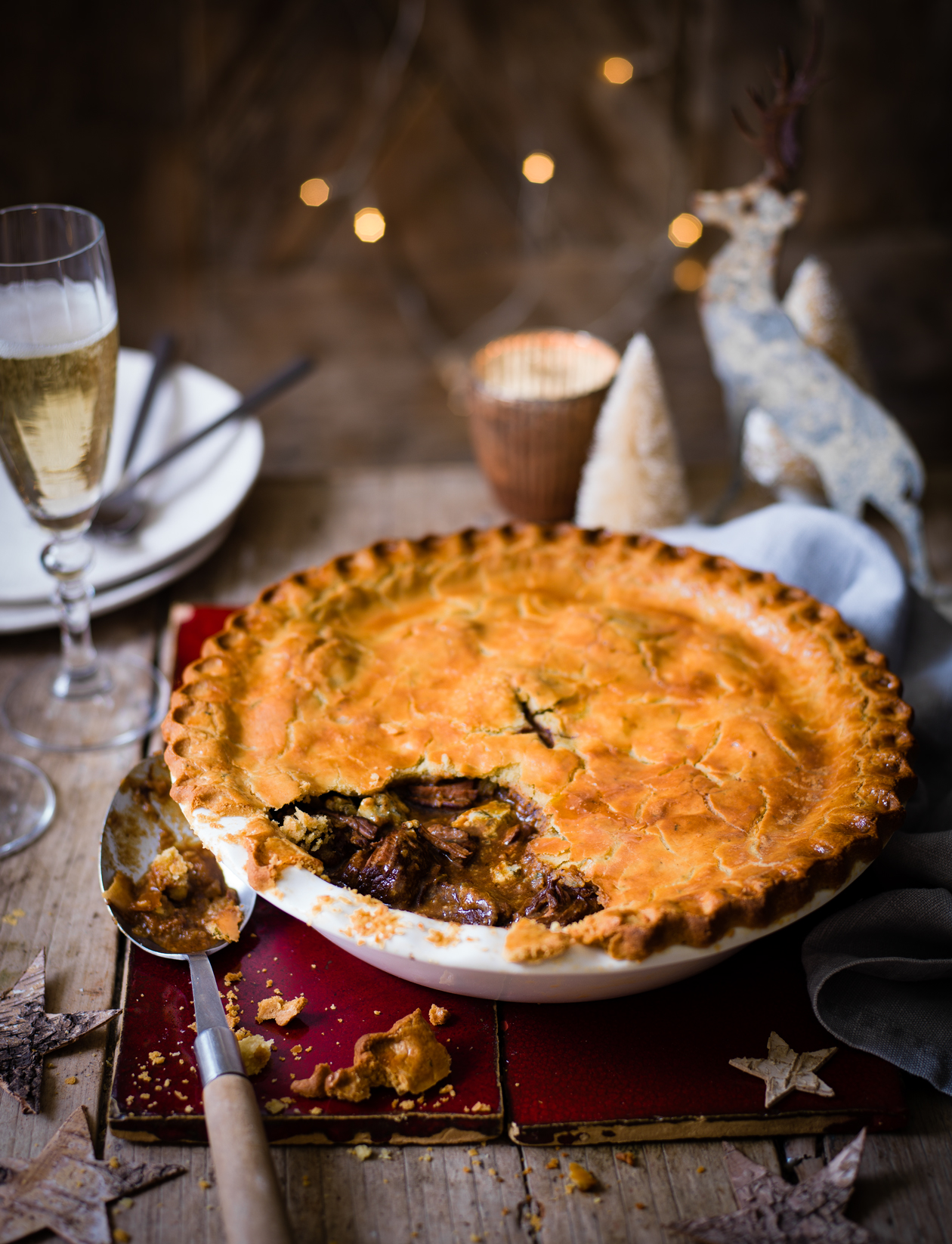 Steak and Stilton pie recipe | Sainsbury's Magazine