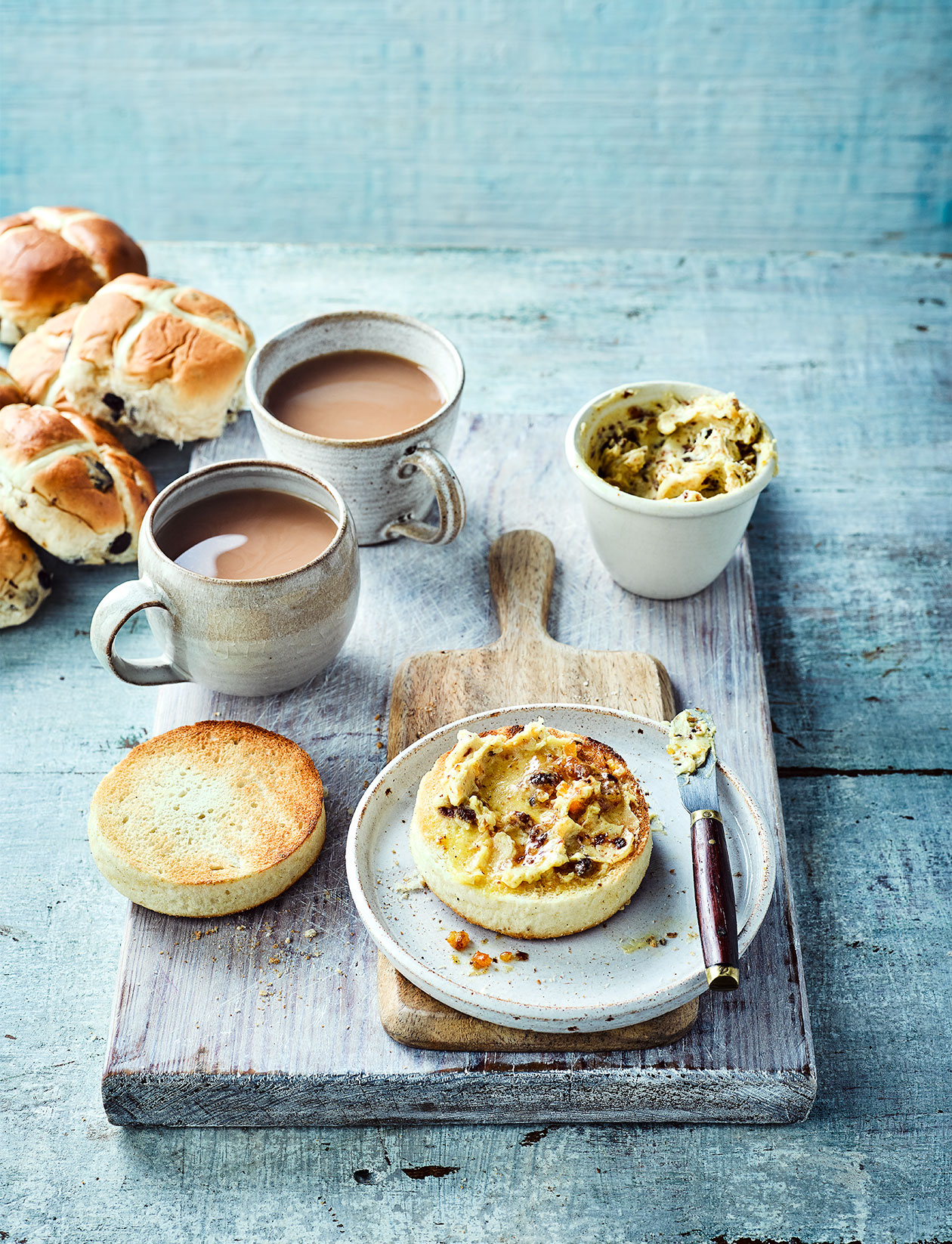 Hot Cross Bun Butter Recipe Sainsbury S Magazine