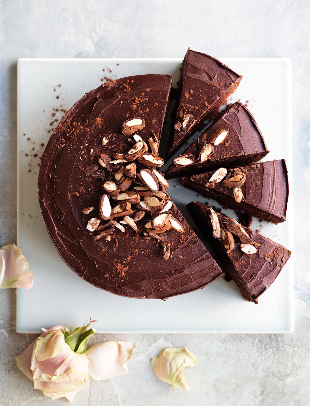 Chocolate Truffle Cake Recipe Sainsbury S Magazine