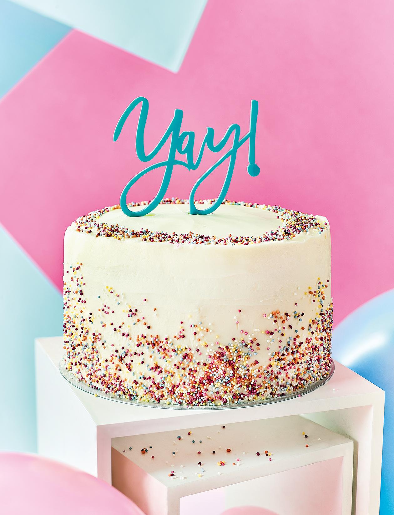 How To Make Our Funfetti Celebration Cake