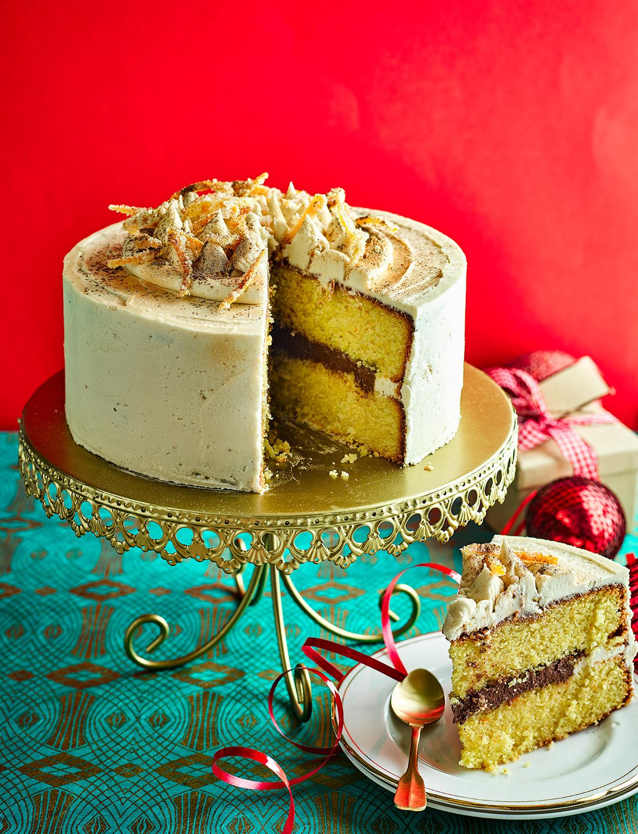 Remarkable Chocolate And Orange Gluten Free Polenta Cake Recipe Sainsburys Funny Birthday Cards Online Hetedamsfinfo