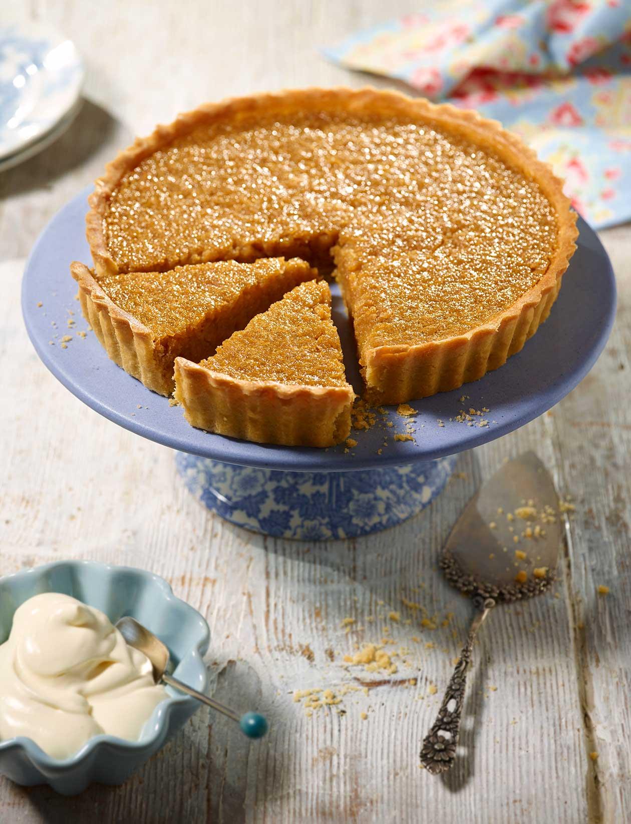 English Honey Tart Recipe Sainsbury S Magazine