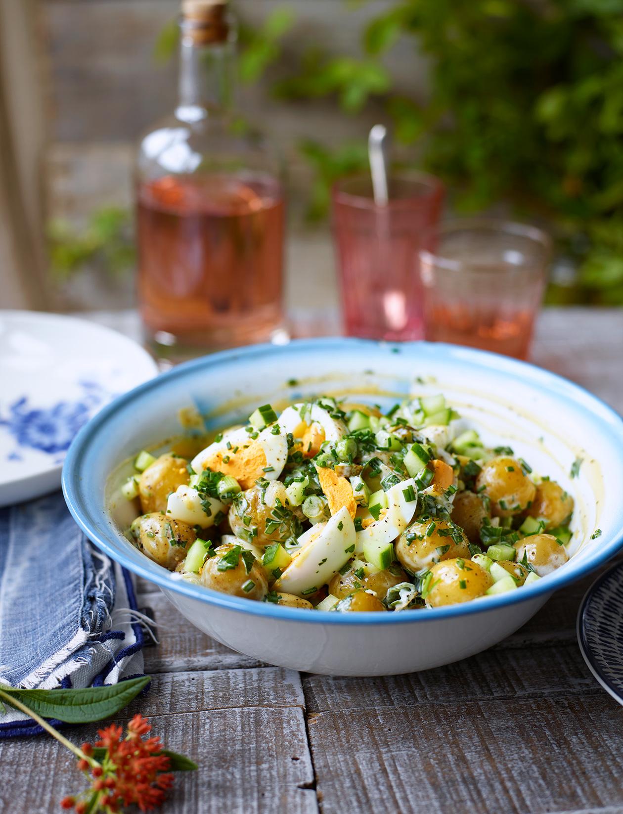 Potato And Egg Salad Recipe Uk
