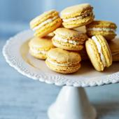 Pineapple and coconut macaroons