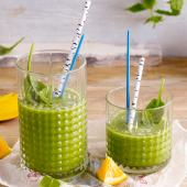 The great green coconut smoothie