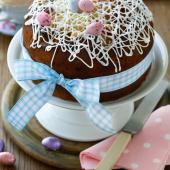 Easter lemon drizzle cake