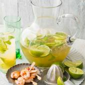 Ginger and whisky Mojito