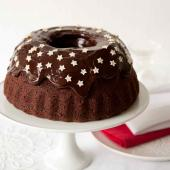 Spiced chocolate cake with chocolate icing