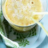 Orange, passionfruit & mango smoothie
