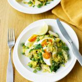 Easy smoked haddock kedgeree