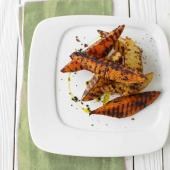 Spiced barbecue wedges
