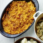 Sweet potato, cumin and chilli mash