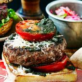 Tapenade burger