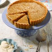 English honey tart