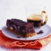 Decadent chocolate and chestnut bars