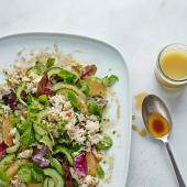Crab & grapefruit salad with yuzu dressing