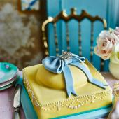 Giant French Fancy Cake Sainsbury