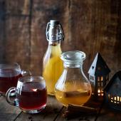 Spiced mulling syrup