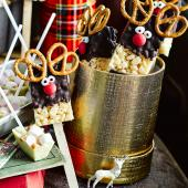 White Christmas Hot Chocolate Stirrers Recipe Sainsburys
