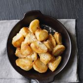 Extra crunchy freeze-ahead roast potatoes