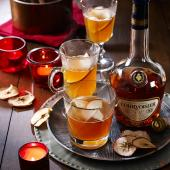 Courvoisier spiced apple warmer