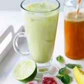 Apple, pineapple and lime juice