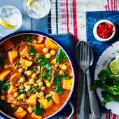 Malaysian sweet potato curry