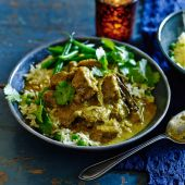 Coconut and cinnamon beef curry