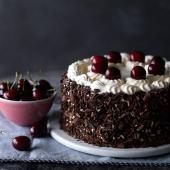 Proper Black Forest gateau