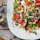 Lebanese turkey salad