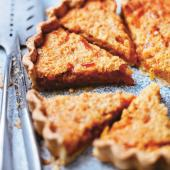 Toast and marmalade tart