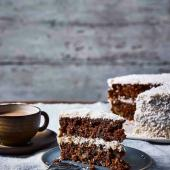 Chai coconut carrot cake