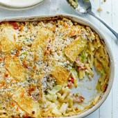 Tartiflette mac and cheese