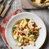 Cauliflower and pancetta carbonara
