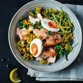 Tom Daley's kedgeree with salmon
