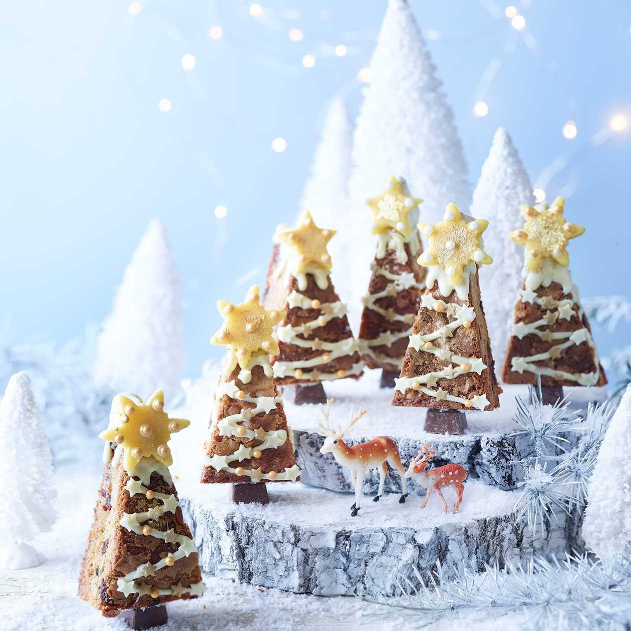 Stollen Blondie Christmas Trees