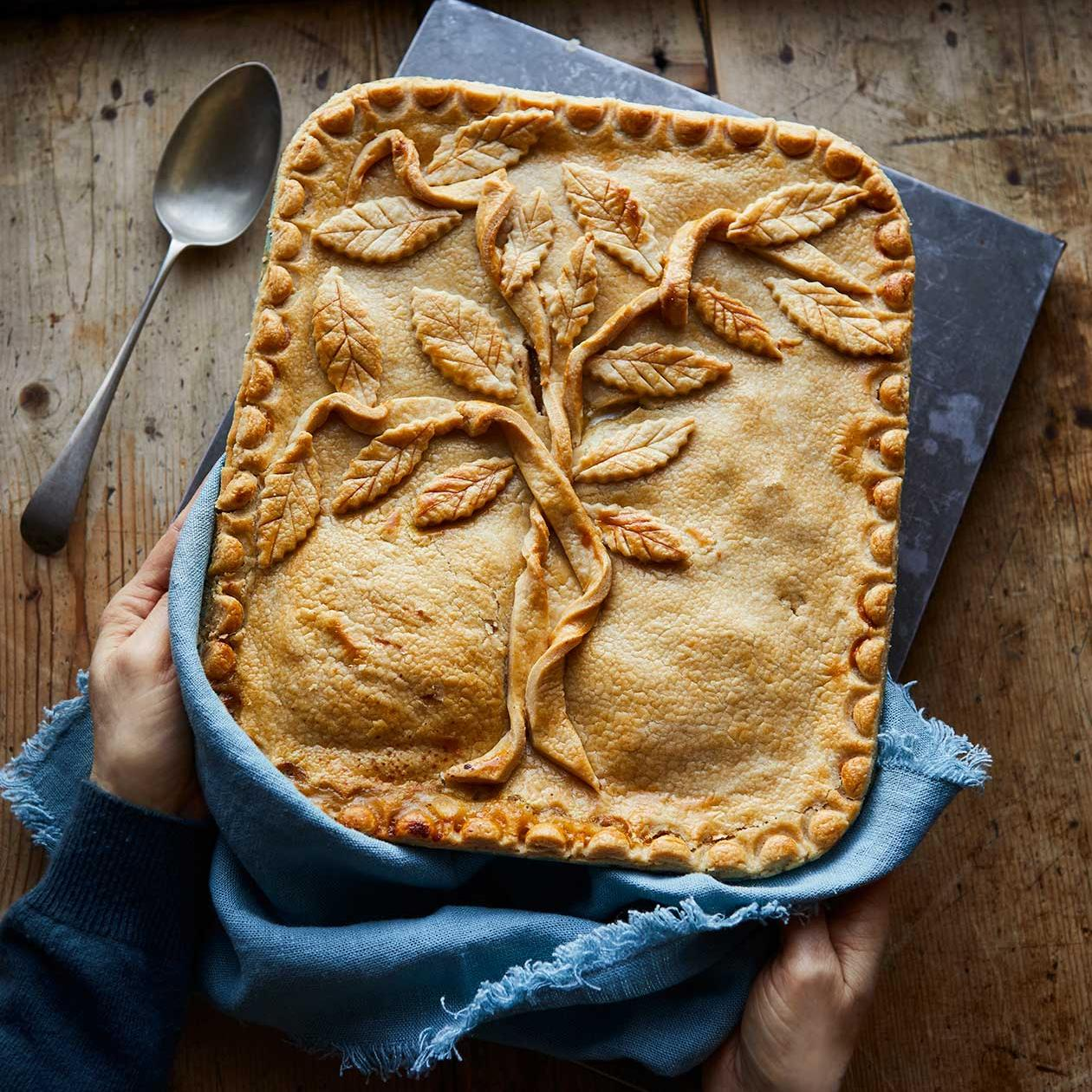 Coronation Chicken Pie Recipe Sainsbury S Magazine